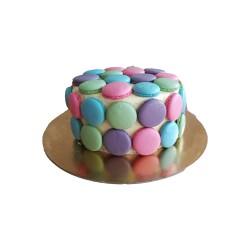 Makrónkový dort