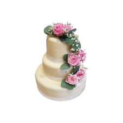 Svatební s květinami