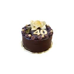 Klasický krémový čokoládový